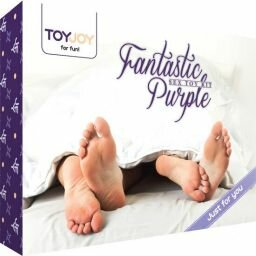fantastic purple kit de juguetes sexuales